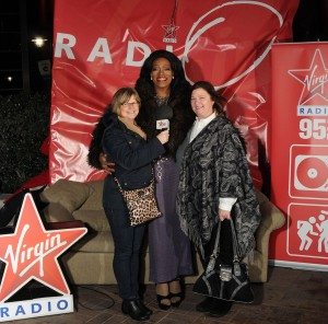 Ann and her sister with Faux-prah at Oprah in Vancouver Photo courtesy of Virgin Radio Vancouver
