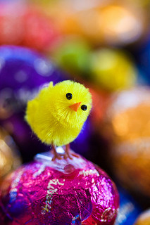 Easter eggs symbolize rebirth