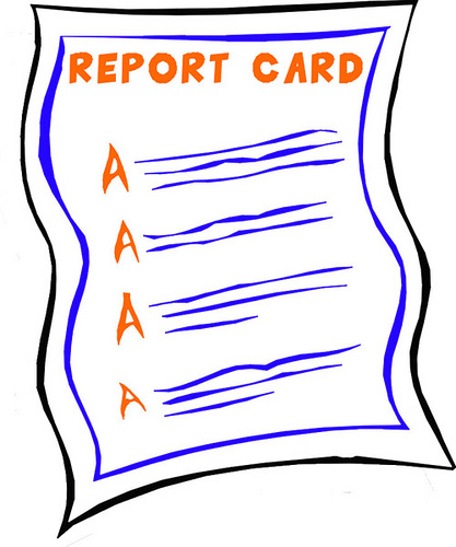 optimizing yourself report card